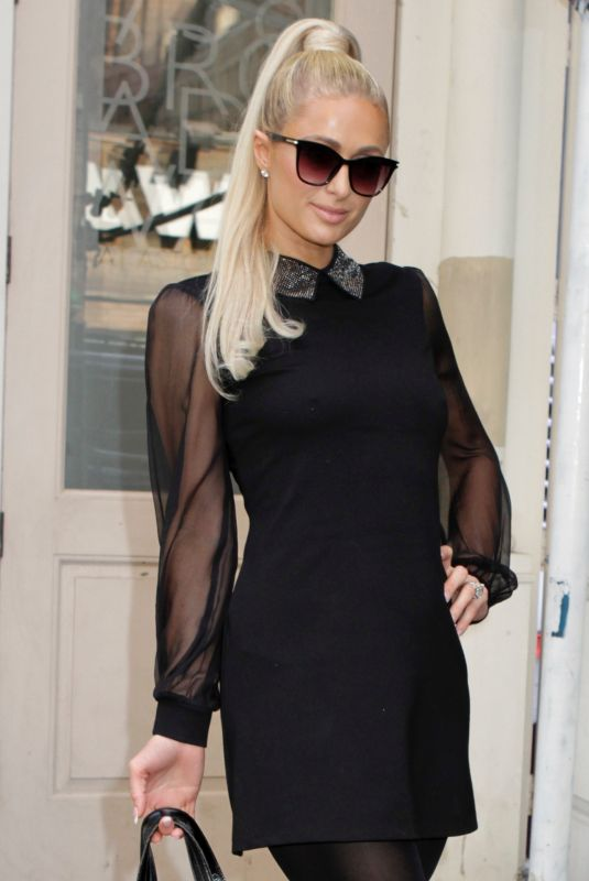 Paris Hilton Steps out and about for a Tuesday stroll in New York City