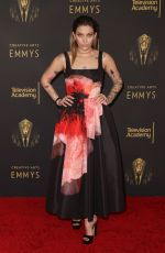 Paris Jackson Attends the 2021 Creative Arts Emmys at Microsoft Theater in Los Angeles
