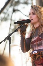 Paris Jackson Performs onstage during day 1 of the 2021 Beach Life Music Festival in Redondo Beach