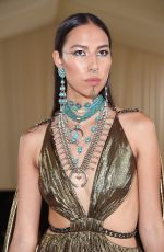 Quannah Chasinghorse Attends The 2021 Met Gala Celebrating In America: A Lexicon Of Fashion