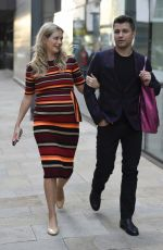 Rachel Riley Seen leaving Countdown filming at Media City in Manchester