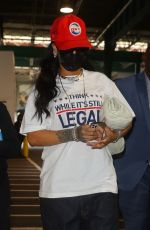 Rihanna Gets political in NYC