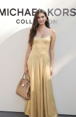 Sara Sampaio Attends the SP22 Michael Kors Collection Runway Show at Tavern On The Green in New York City
