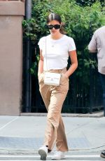Sara Sampaio Steps out for a morning stroll in the streets of SOHO, New York