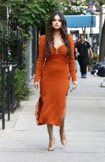 Selena Gomez Out for lunch in NYC
