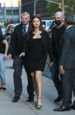 Selena Gomez Outside the tonight show with Stephen Colbert in New York