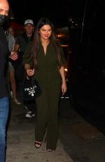 Selena Gomez Spotted leaving dinner with friends at Bacaro Italian restaurant in New York