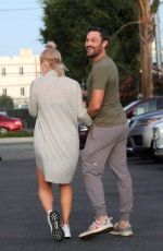 Sharna Burgess Seen after her dance practice on Saturday in Los Angeles