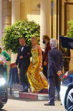 Sharon Stone Seen at the hotel in Zurich
