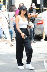 Shay Mitchell Heads to the 9/11 Memorial on the 20th anniversary in New York