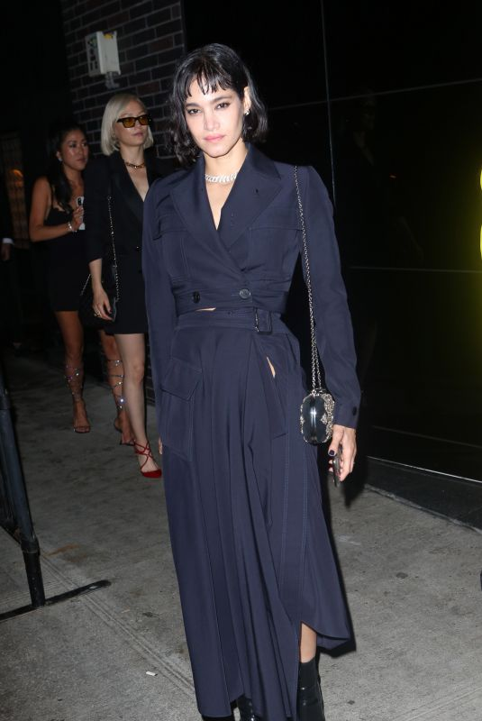 Sofia Boutella At Met Gala after party at the Standard Hotel