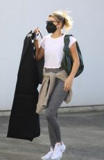 Sofia Richie Finishes a shopping outing at Rick Owens in Los Angeles