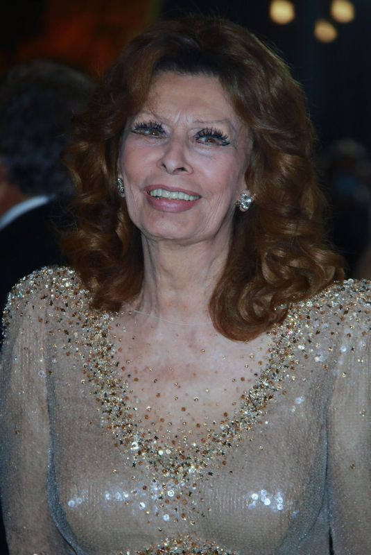 Sophia Loren At Academy Museum of Motion Pictures Opening Gala held at The Academy Museum in Los Angeles