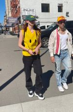 Sophie Turner and Joe Jonas are pictured stepping out in New York City