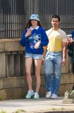 Sophie Turner and Joe Jonas head out on a stroll in New York City