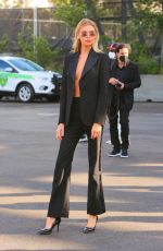 Stella Maxwell Arrives at the Coach show in New York City