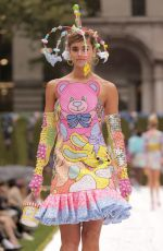 Taylor Hill At the Moschino Spring Summer 2022 fashion show during Fashion Week in New York City