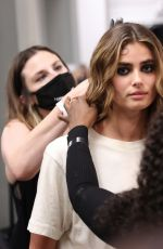 Taylor Hill Hits the runway for Laquan Smith at Fashion Week in New York