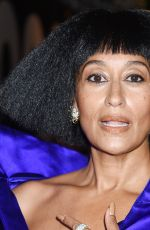 Tracee Ellis Ross Celebrities departing The Mark Hotel in New York City for the 2021 Met Gala