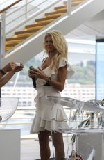 Victoria Silvstedt At Prize draw for the Princess of Monaco Cup