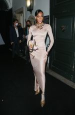 Winnie Harlow Attends Versace/Fendi private party in Milan