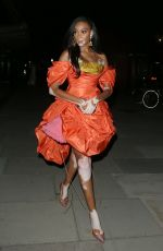 Winnie Harlow Seen at the GQ Awards After Party at 180 Strand in London