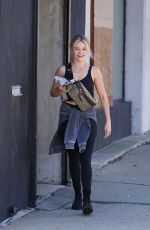 Witney Carson At the Dancing With The Stars rehearsal studio in LA