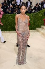 Zoe Kravitz Attends The 2021 Met Gala Celebrating In America: A Lexicon Of Fashion at Metropolitan Museum of Art in New York City