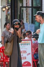 Zoe Kravitz Steps out in New York