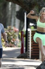 Ali Oetjen Pictured on vacation with her brother in Palm Cove, Queensland