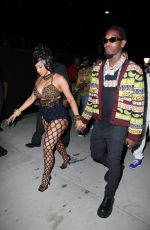 Cardi B Is a showstopper as she arrives at her star-studded 29th birthday party with hubby Offset in Los Angeles