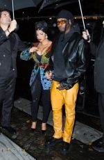 Cardi B Leaving her hotel to a party during Paris Fashion Week