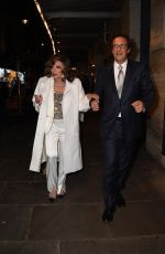 Dame Joan Collins Attends an afterparty in the west end neighborhood of London