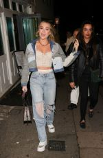 Georgia Harrison Pictured arriving at The Broadway in Muswell Hill