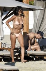 Isabel Pakzad & James Franco Relax at Branco beach on their sun-soaked holiday in Mykonos