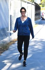 Jennifer Garner Drops off Samuel at his afternoon swimming class in Brentwood