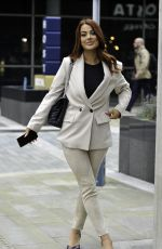 Jessica Hayes Leaves BBC Breakfast Studios in Manchester