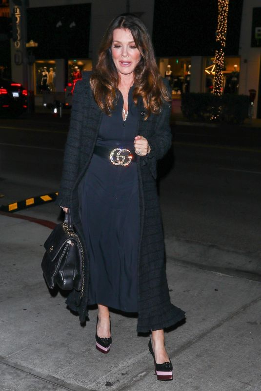 Lisa Vanderpump And husband Ken Todd have dinner with Michael Chow in Los Angeles
