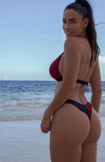 """Lucia Javorcekova Booty and Cleavage in a """"Body Engineers"""" Swimwear Photoshoot"""