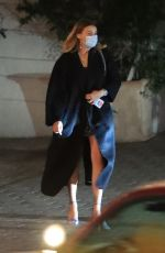 Margot Robbie Looks classy as she is seen leaving the Sunset Tower Hotel in West Hollywood