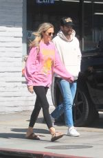 Melissa Ordway Goes to lunch in Hollywood