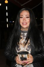Mutya Buena Pictured arriving at The Broadway in Muswell Hill
