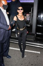 Nikita Dragun Causes a flash frenzy arriving at Cardi b's 29th birthday party in Los Angeles