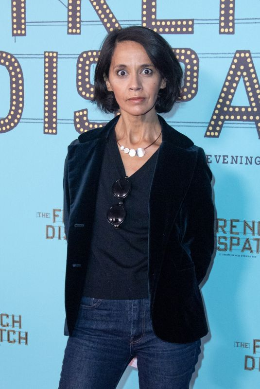 Sophia Aram At The French Dispatch Premiere at the UGC Cine Cite Bercy in Paris