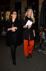 Tamara Beckwith Attends an afterparty in the west end neighborhood of London
