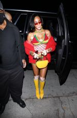 Winnie Harlow As she makes an appearance at Cardi b's 29th birthday party in Los Angeles