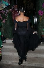 Winnie Harlow Seen at a fundraiser for the Amazon jungle in London