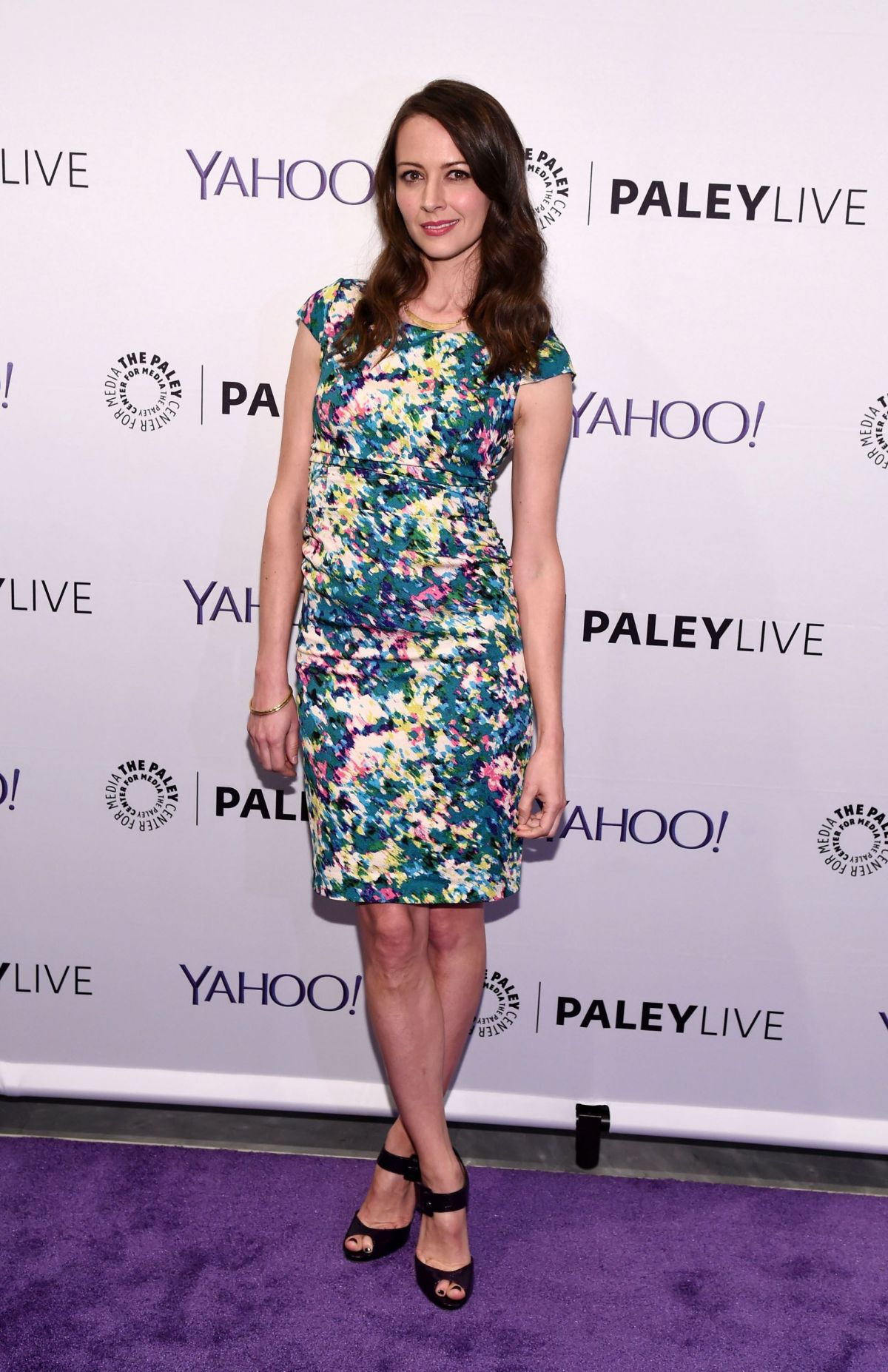 Amy Acker Bikini amy acker at the paley center person of interest event - celebzz
