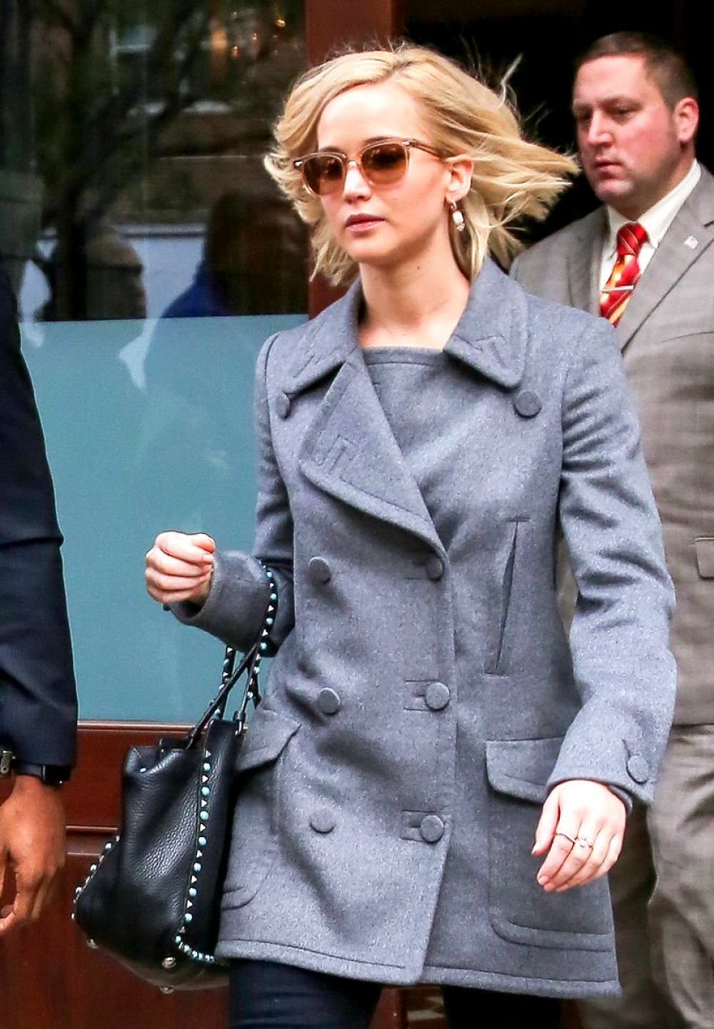 Jennifer lawrence leaving her hotel in nyc - 2019 year