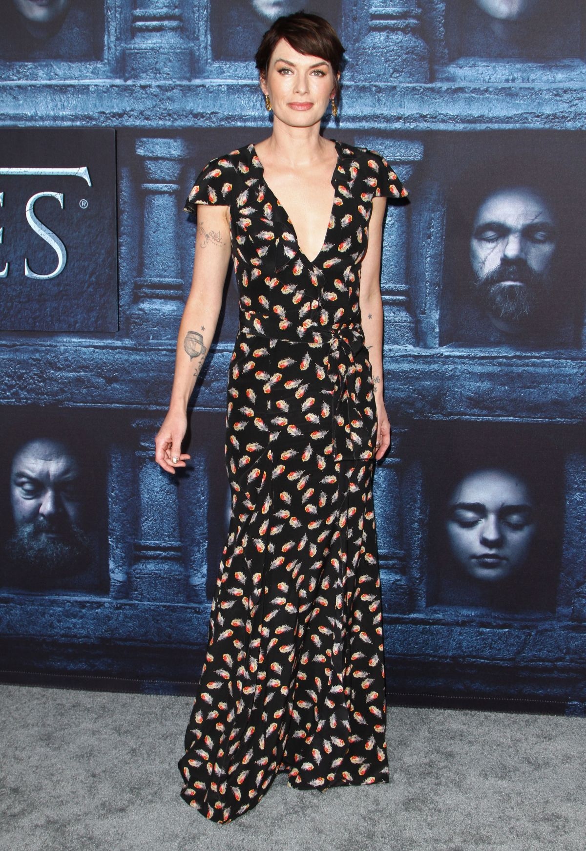 1cee536aa98a Lena Headey At HBO s  Game of Thrones  Season 6 Premiere At TCL Chinese  Theatre